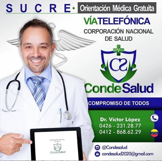 Jodedores! en #CondeSalud estamos activos en: #Sucre #Monagas #Merida #Barinas sumando por #Venezuela https://t.co/gDvFSv3sSn