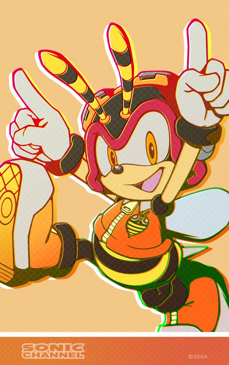Tails Channel Sonic The Hedgehog News Updates On Twitter New Official Artwork Of Charmy For April 2020 Sonicnews