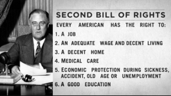 We need FDR like measures to get us out of this crisis alive. #BernieIsOurFDR