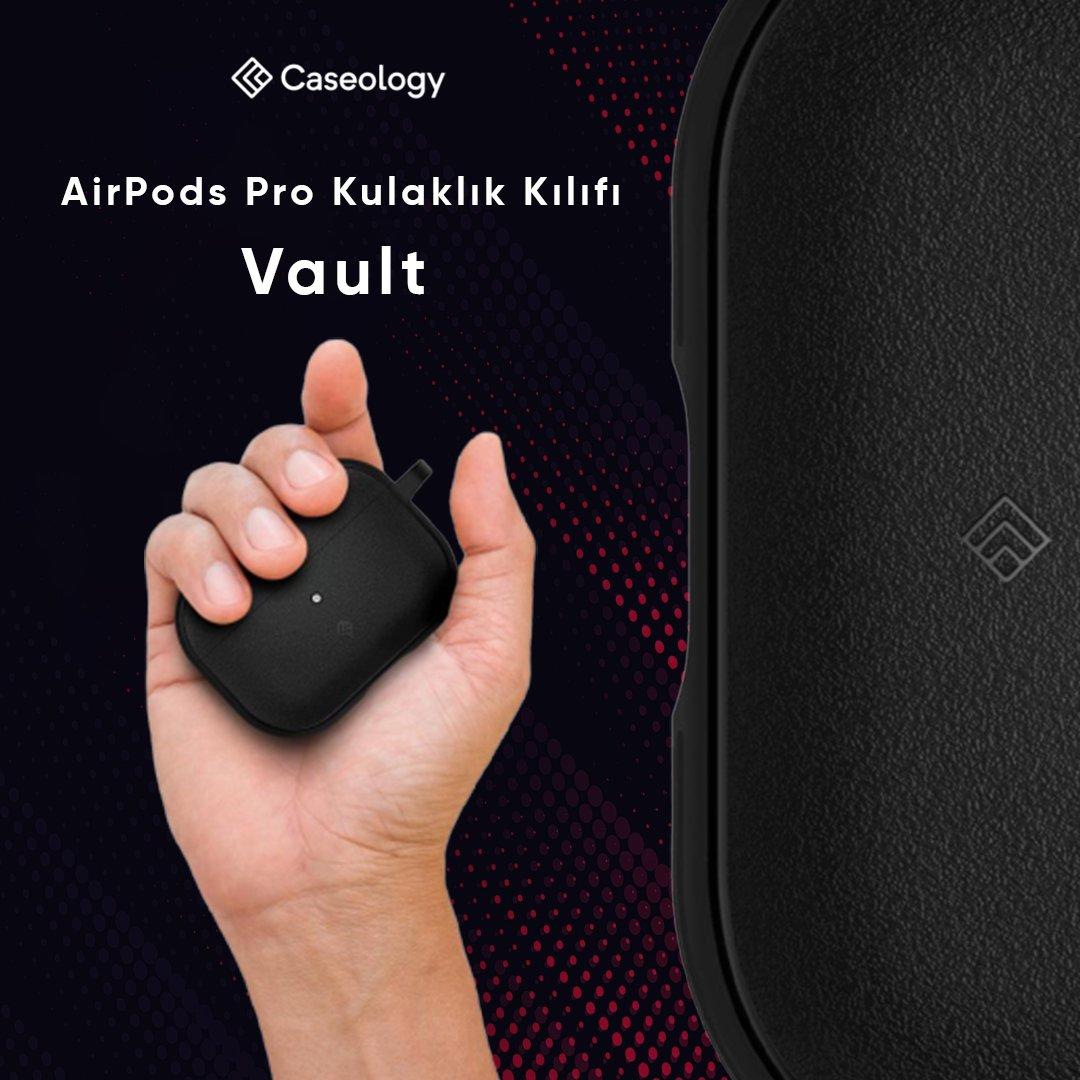 Eşsiz dokusu ve kolay tutuşuyla vazgeçilmez AirPods Pro Kulaklık Kılıfı, #Caseology Vault   ► http://bit.ly/2If2Ldy  #türkiye #kılıf #case #mobil #aksesuar #apple #airpods #airpodspro #appleaccessories #airpod #applemusic #music #casepic.twitter.com/VYfTZ3TimY