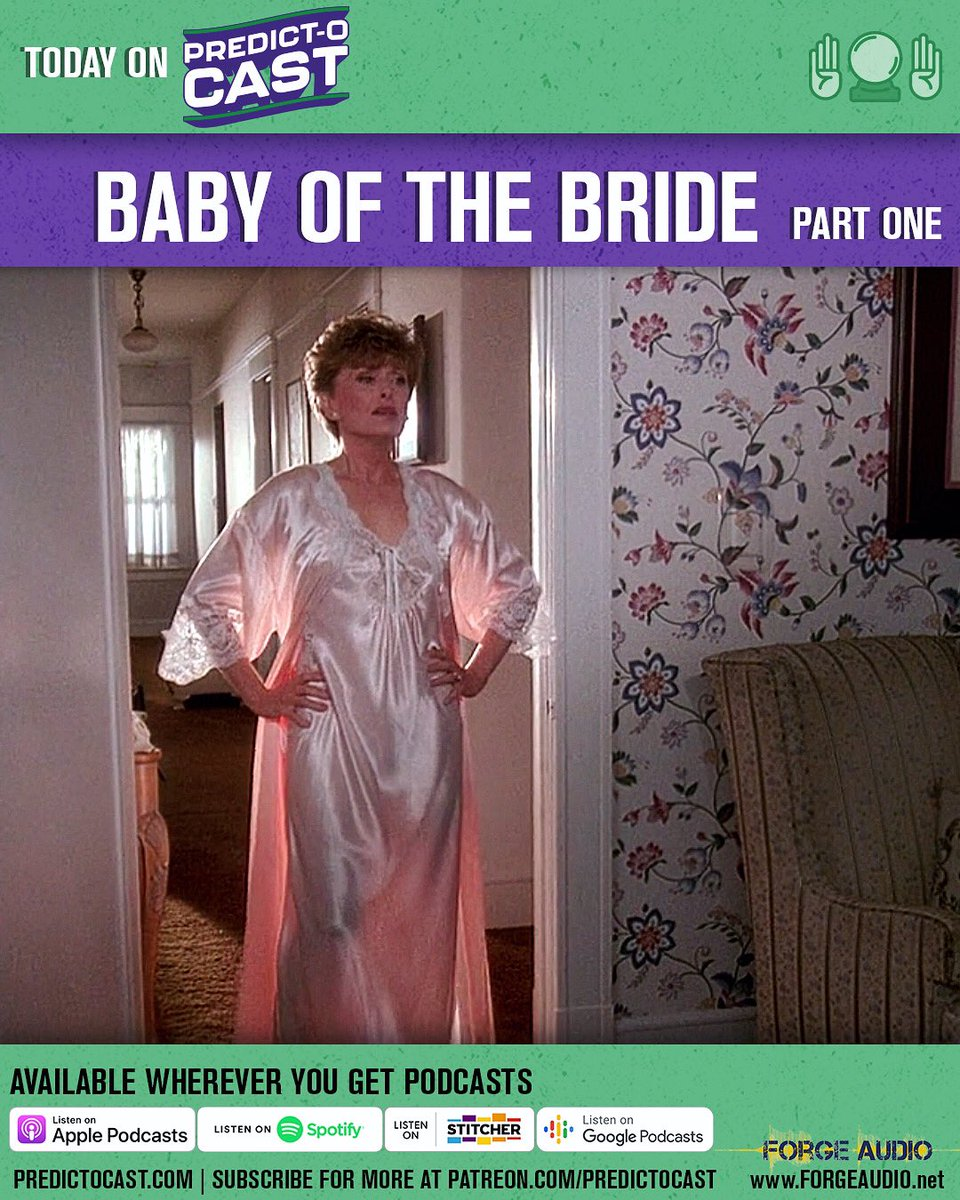 We're trapped inside but we're still taking about Rue McClanahan! Our first episode on Baby of the Bride is out now wherever you get podcasts or at  http:// forgeaudio.net/predictocast    ! #trypod #PodernFamily #ruemcclanahan <br>http://pic.twitter.com/cNHY1I9eQN