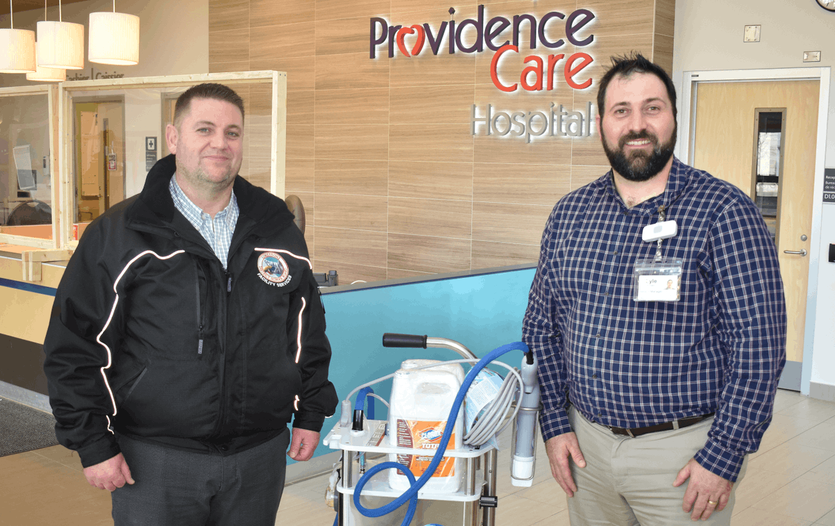 test Twitter Media - We are overwhelmed by the generosity of our #community here in #ygk. @LimestoneDSB recently donated a variety of cleaning supplies and special sanitizing equipment to Providence Care and @KingstonHSC. Read more here: https://t.co/hO4jwy2oxm https://t.co/FV1ddxoIeg