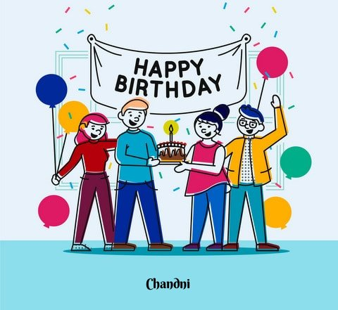 Wish you a many many  happy returns of the day.😍🍫 May God bless you with health, wealth and prosperity in your life HAPPY BIRTHDAY #Chandni😍😘 🎂🎂🎂 @In_peace__ 😍🎂🎂🍫