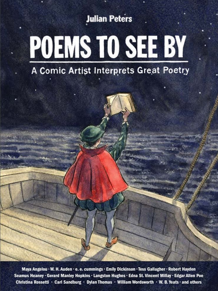 .@NemesisFC2 #reviews Poems To See By from @PloughBooks by @jpeterscomics featuring #MayaAngelou, #EdgarAllenPoe, #WilliamWordsworth, #EmilyDickinson, #PercyByssheShelley & more... #comics #SCORE: 4.3/5 http://ow.ly/ChsB30qrCag pic.twitter.com/RAIJ0TnVX3