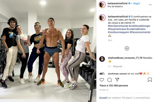 Photo: #Ronaldo spends quarantine in the gym amid Coronavirus outbreak dlvr.it/RSTM2G