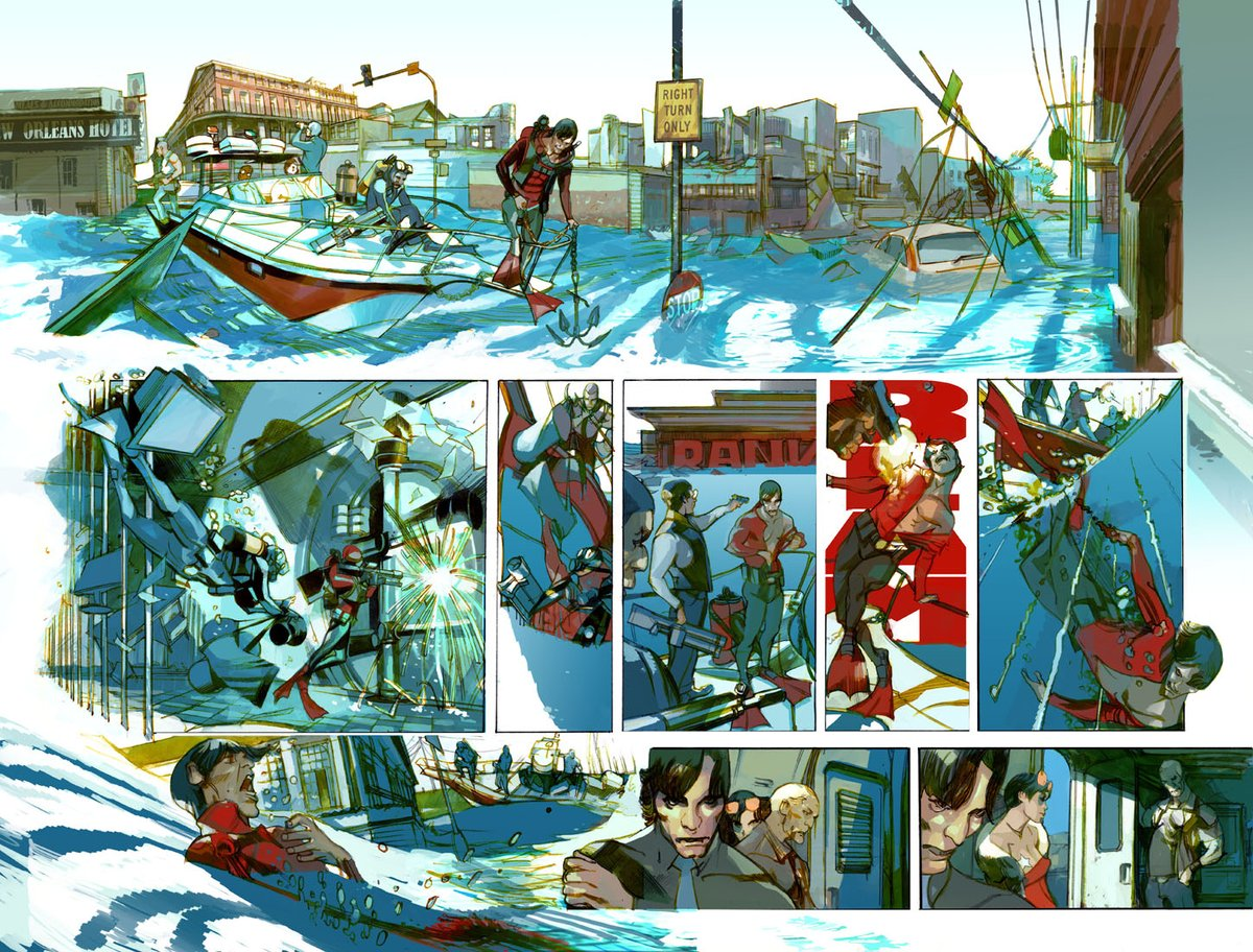 Rick Remender On Twitter One More Blast Of Last Days Of American Crime Pages By Gregtocchini With La Under Martial Law