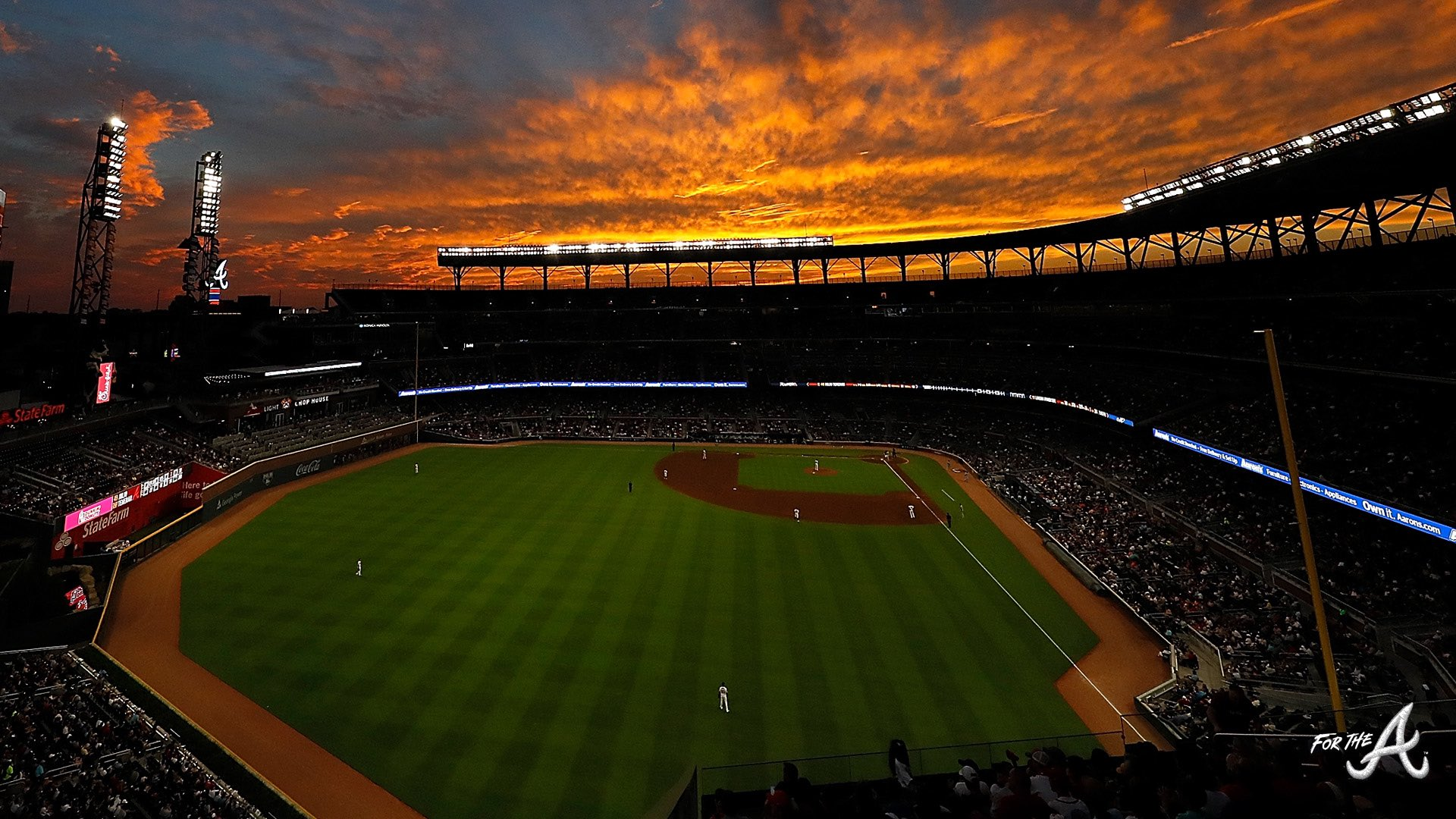 Atlanta Braves On Twitter Why Work From Home When You Can Work From The Ballpark Use These Braves Backgrounds On Your Next Video Conference Call Https T Co F99npgall2