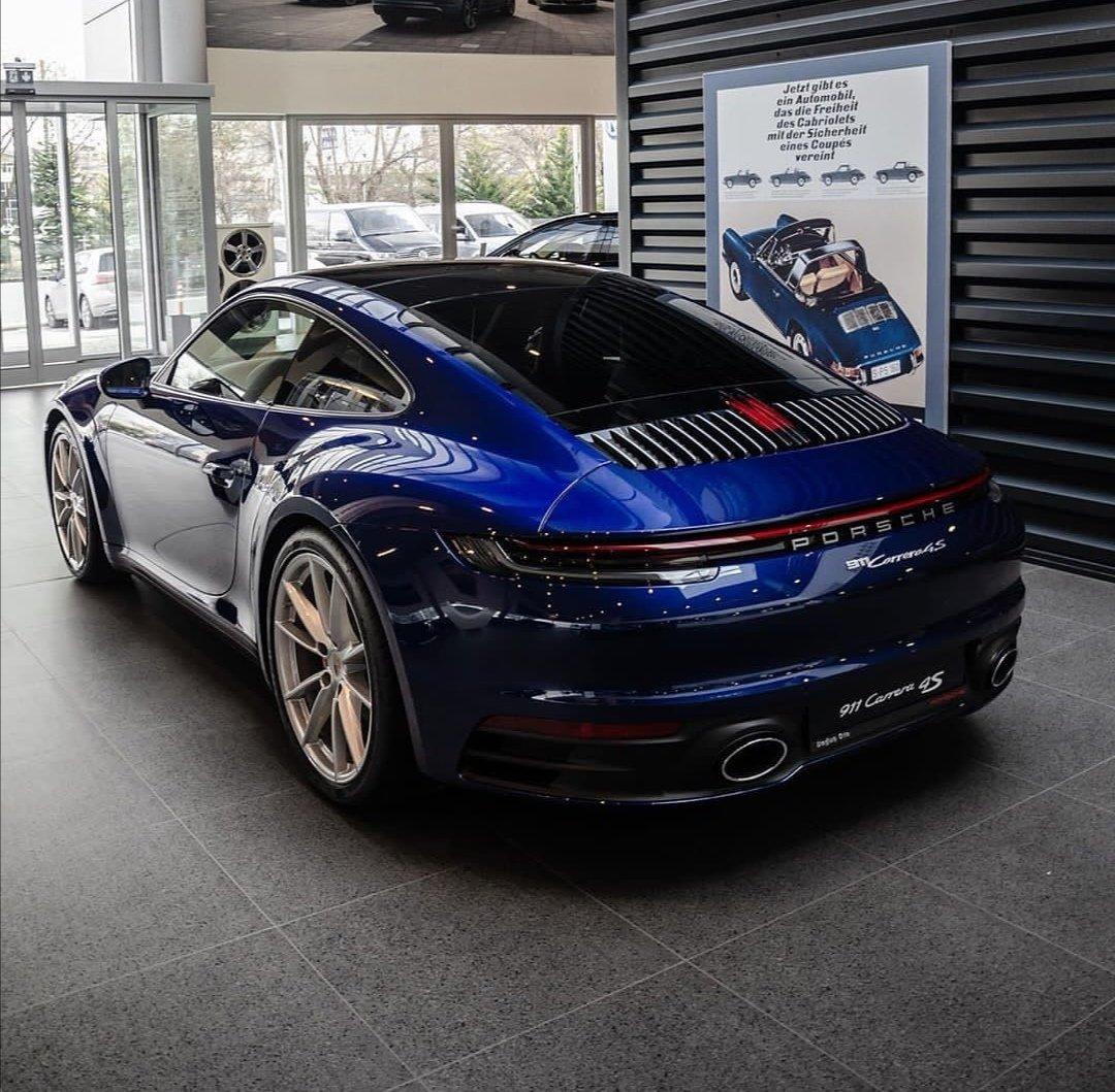 Dave On Twitter Beautiful Gentian Blue Metallic 992 Carrera 4s Porsche 911 992 Carrera4s Flat6 450hp Porschepower Porscheporn Sexyass Geminibluemetallic Https T Co L8ocag2uls
