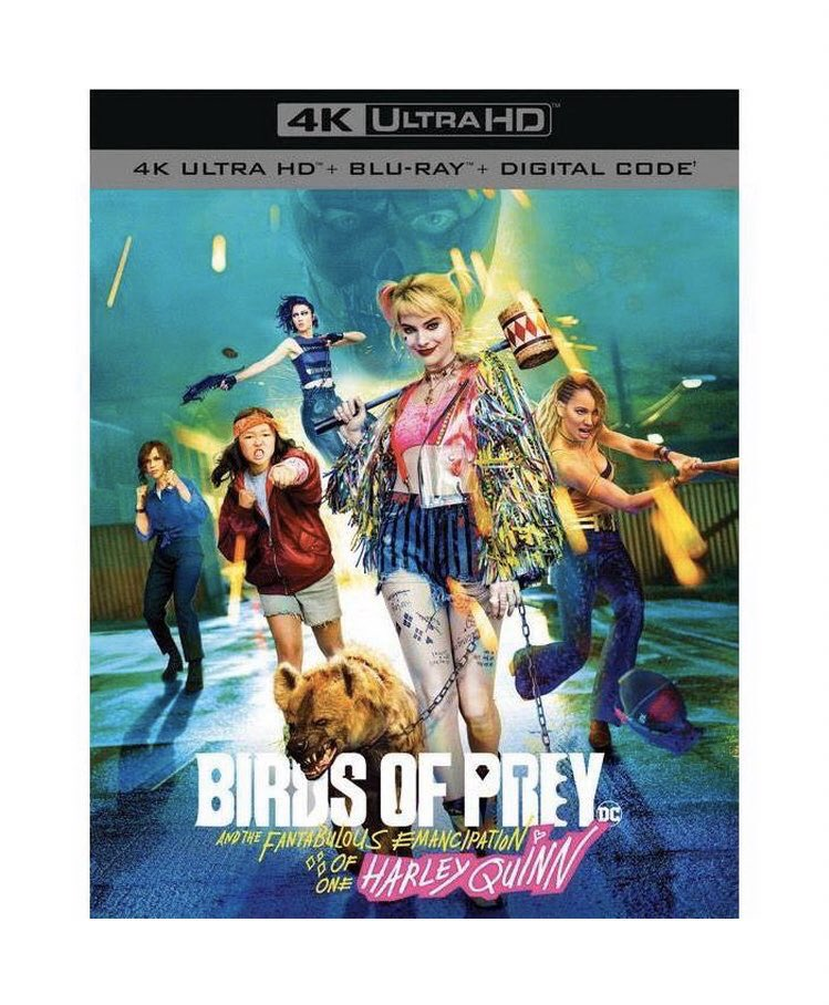 Harley Quinn Updates On Twitter Birds Of Prey S Blu Ray And Dvd Release Date Is Slated For May 12 According To Best Buy And Walmart Birdsofprey