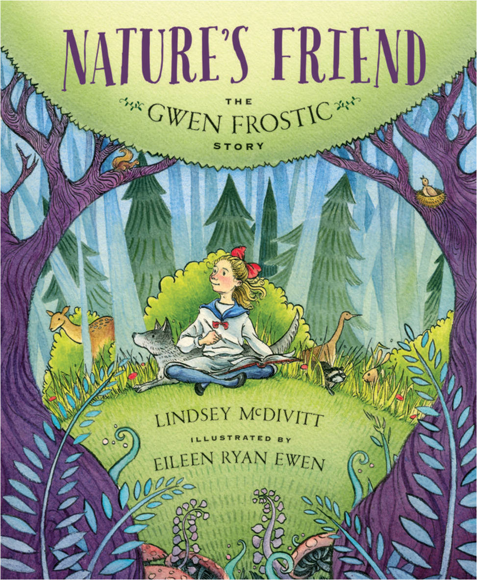 """Celebrate #worldwildlifeday2020 & learn about early environmentalist #GwenFrostic .#picturebook from @SleepingBearBks """"I never knew I couldn't do something."""" #ecolit #girlpower #disabilitychallenged https://t.co/WXfaXJTgAb"""