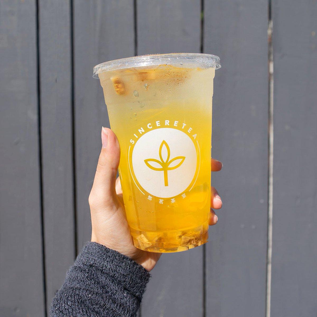 Sunshine in a cup.  . . #spring #seasonal #floral #fruittea #sweettea #chrysanthemum #sinceretea #specialtea #teaaddict #teashop #milktea #boba #bobamilktea #march #happinessinacup #lychee #fig #yellow #downtownwalnutcreek #downtownsjpic.twitter.com/55ubEc2F5x