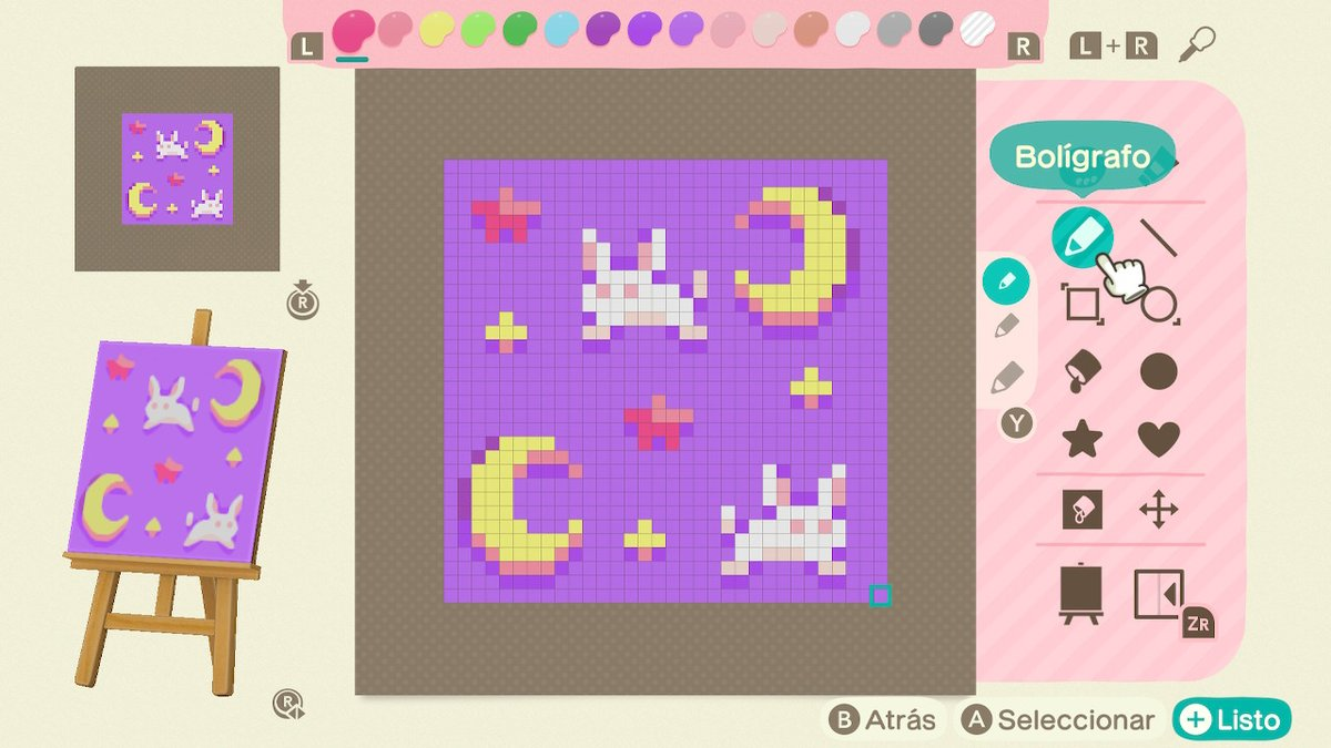 Lenacchi Pin Preorder On Twitter I Made Usagi S Bed Sheets Animalcrossing Acnh Nintendoswitch