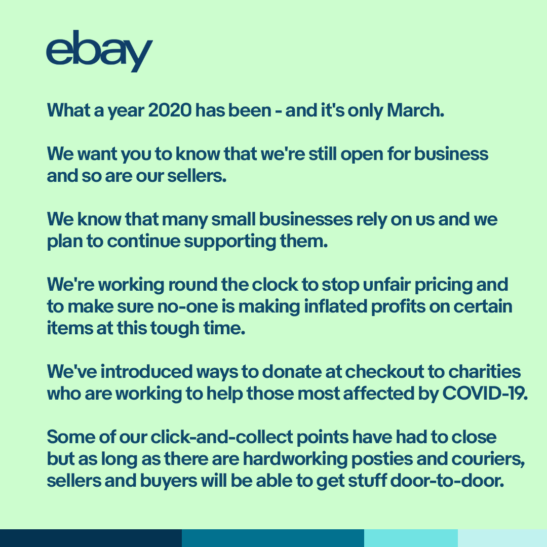 Ebay Co Uk On Twitter From All Of Us Here At Ebay