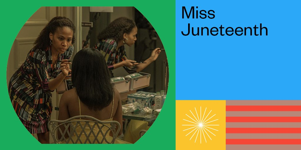 """The Louis Black """"Lone Star"""" Award is presented to Miss Juneteenth directed by Channing Godfrey Peoples. #SXSW"""