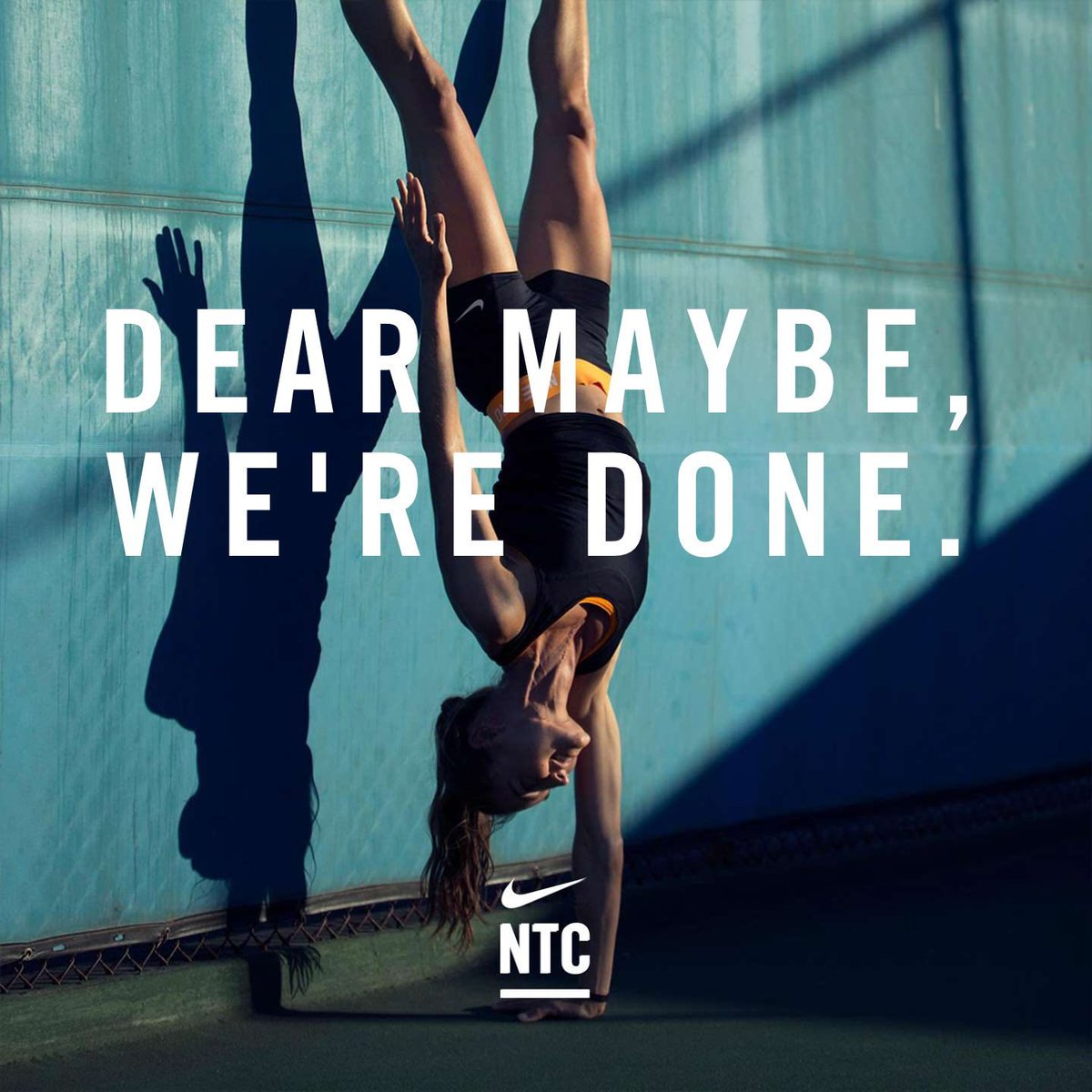 Evening #NTC completed. Just in case you didn't know, Nike Training Club premium is now free for all Nike members. Get your workouts for FREE.  pic.twitter.com/ZN9g9LTmTn