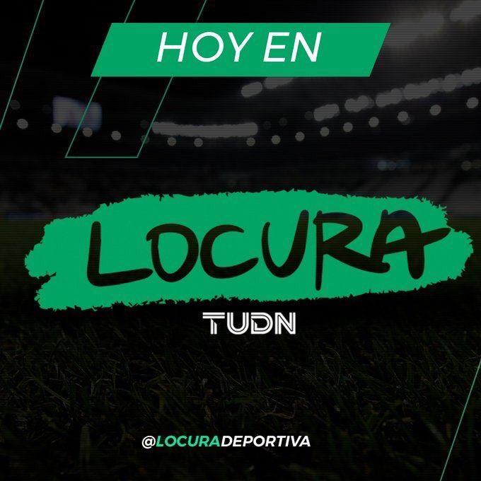HOY EN @LocuraDeportiva  😉@raulguzman ☺️@jllopezsalido  ☺️@Nicocantor1   🗣Hablaremos de... 🥇El Pdte del Comite Olimpico Mexicano estará con nosotros 🐐Chivas y sus problemas extra cancha 😎Simulacro de la LIGA MX al mejor estilo Locura  ⏰6pm ET🇺🇸  5pm 🇲🇽 https://t.co/eo2ze1pxzT
