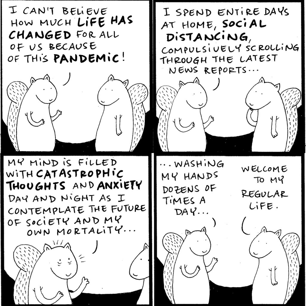 #Squirrel is back and already #pandemic-savvy diaryofasquirrel.blogspot.com/2020/03/pandem… #covid19 #webcomic