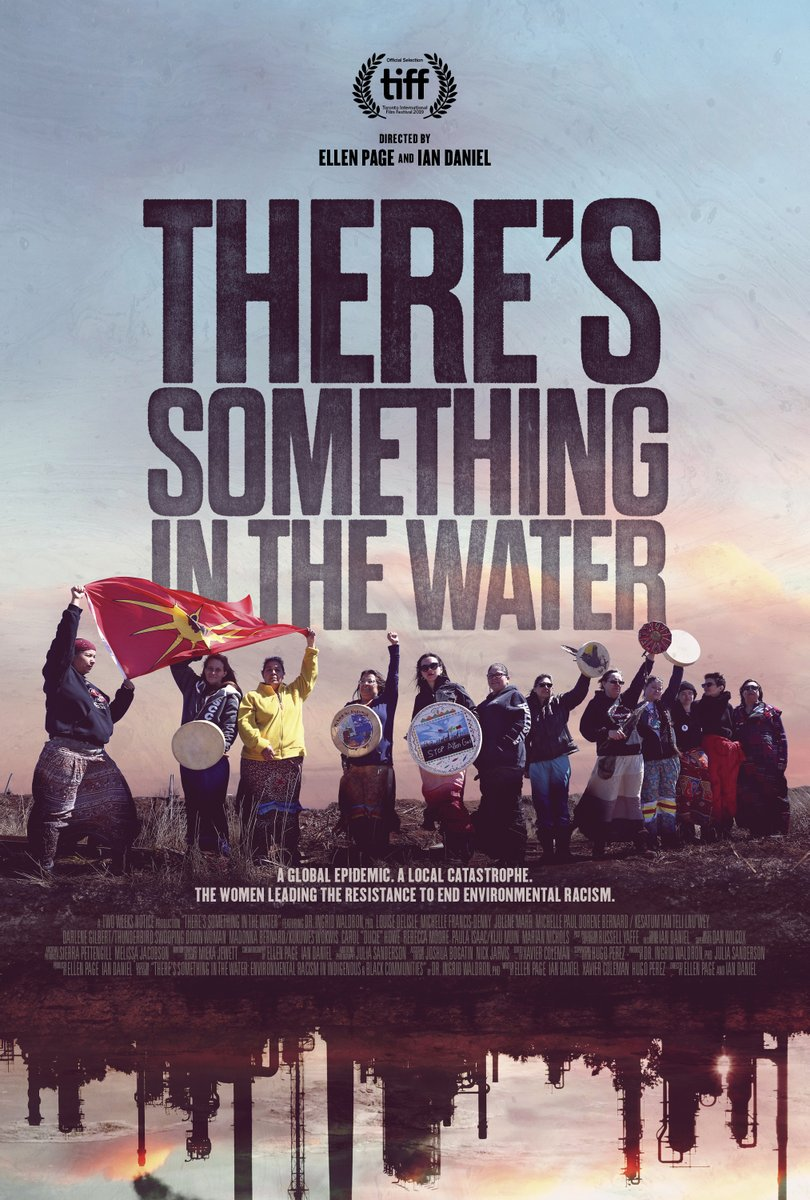This Friday, March 27 our doc film THERES SOMETHING IN THE WATER will be on @Netflix Hope youll check it out! xo @EllenPage @iwaldron2165 @Mikmaq_Michelle @ndngrandmother @DelisleLouise @Mpaulmikmaq @xavierncoleman @H_Perez