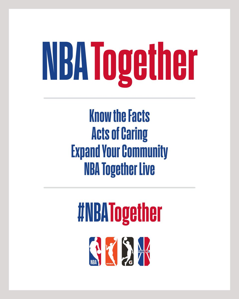 Been inspiring to see guys I've looked up to my entire life join together during this time to make a difference. Please stay safe everyone ! #NBATogether @NBA https://t.co/wmPj6IoHt5