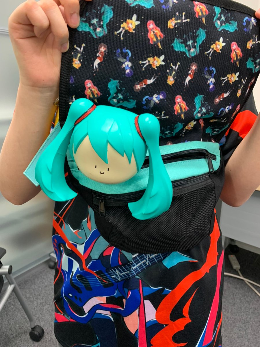 Miku Expo 2020 On Twitter Body Bag With Colorful Art By Giselle Printed Inside You Can Get Them At Https T Co Czqutrkcfh Mikuexpo2020