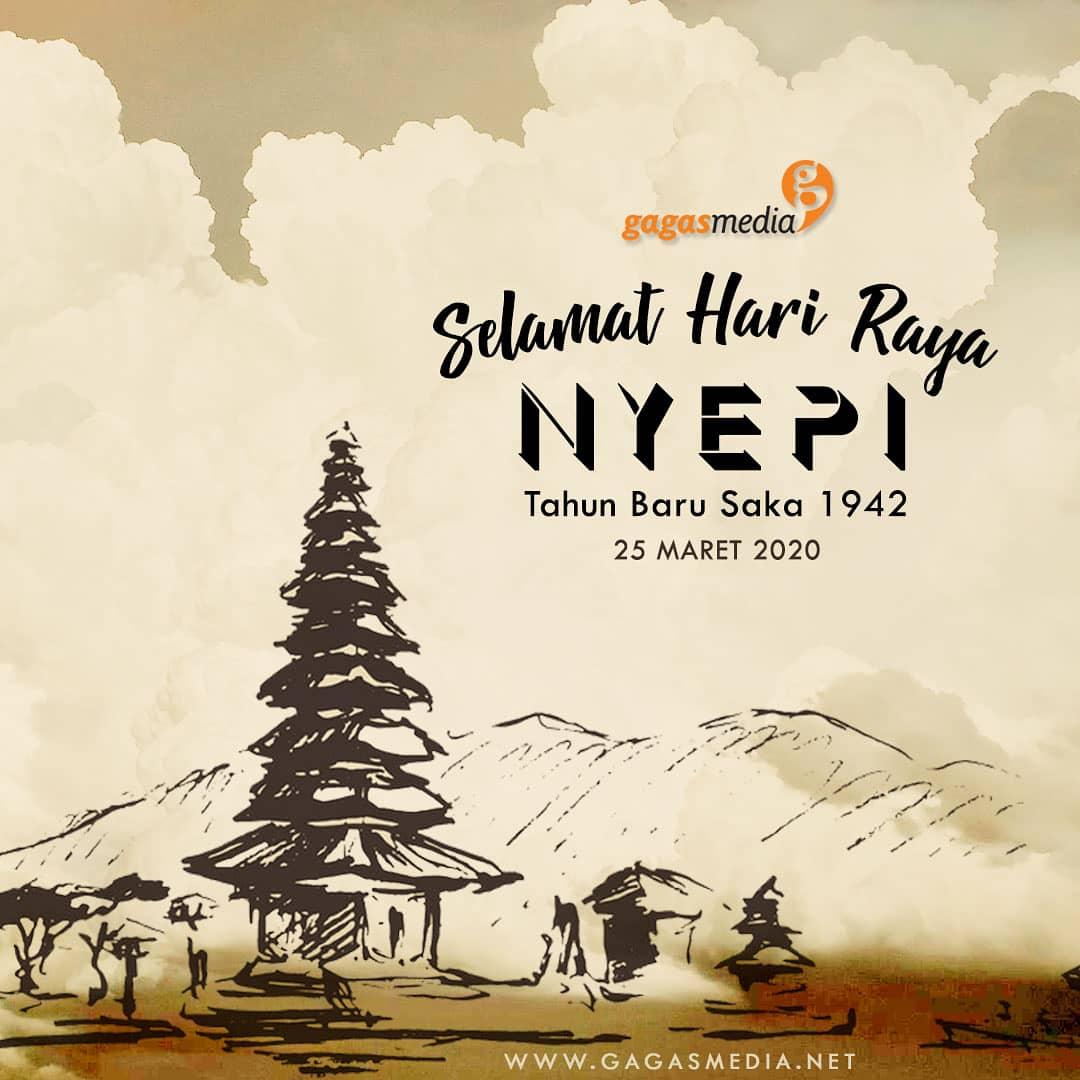 Selamat Hari Raya Nyepi Tahun Baru Saka 1942 bagi teman-teman yang merayakan♥