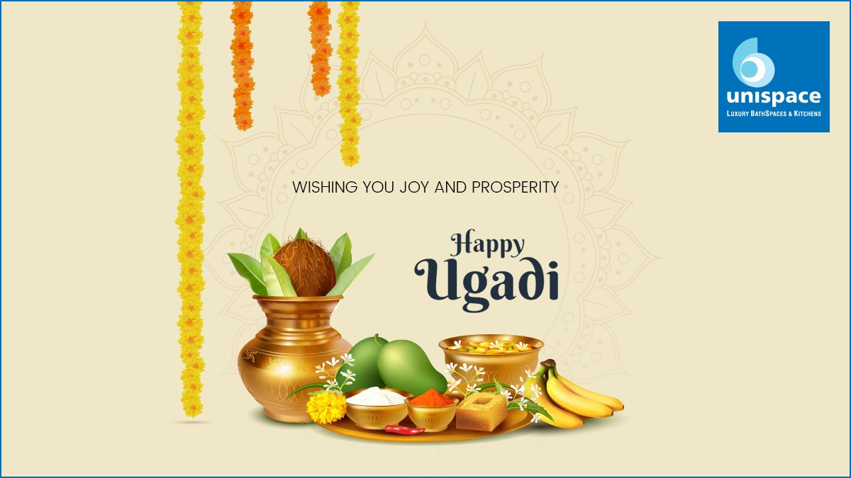 On the auspicious occasion of Ugadi, we wish you and your loved ones good health, and a joyful future together! #HappyUgadi #StaySafe https://t.co/ynPzdVxjFU
