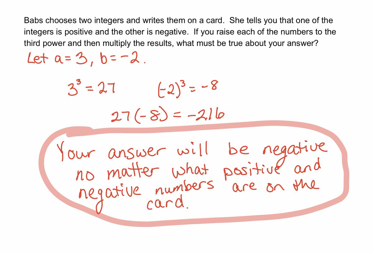 Here is the answer for yesterday's #MathMonday! pic.twitter.com/clJ2ahREB5