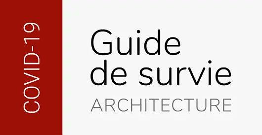 Consultez ce guide de survie qui rassemble plusieurs informations et ressources utiles aux architectes et à tous les professionnels du design. Une belle initiative issue de notre communauté pour faire face à la crise actuelle.  https://t.co/bA1BK6kAIb https://t.co/IZnSG5lmI6