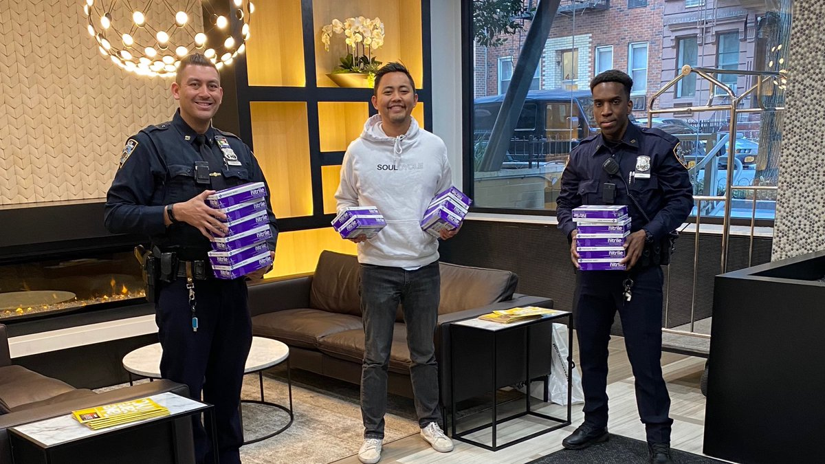 It's been a trying time for us all—but as New Yorkers always do, we sure have come together to help each other.  The great people of @soulcycle wanted these latex gloves delivered to a local hospital & we happily made it so. Your community thanks you & we thank you! https://t.co/K8Qmurbkei