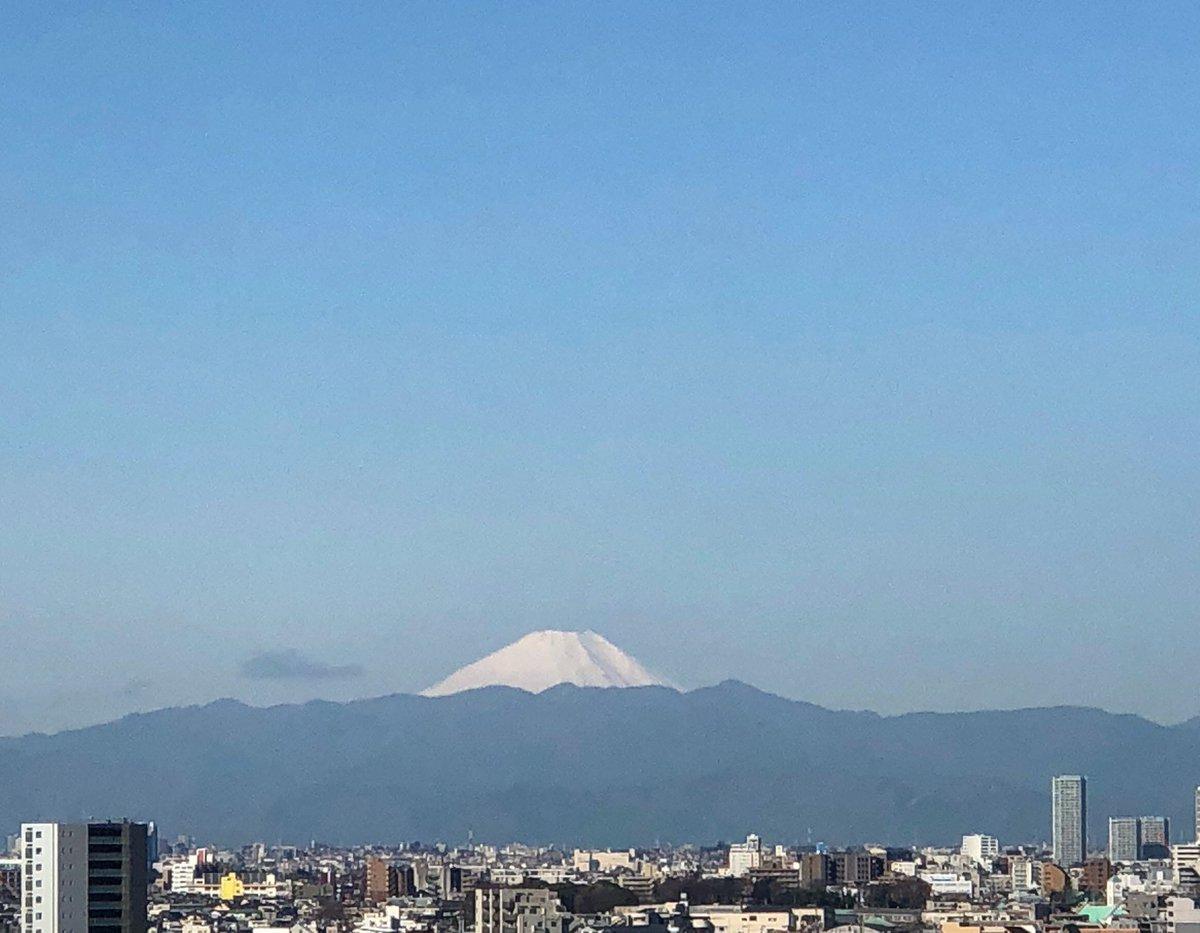 おはようございます! 寒暖差激しい毎日ですね 風邪など引かぬようご自愛ください! #富士山 #mtfuji  #gotanda #tokyo #goodluckpic.twitter.com/km42N6UQTo