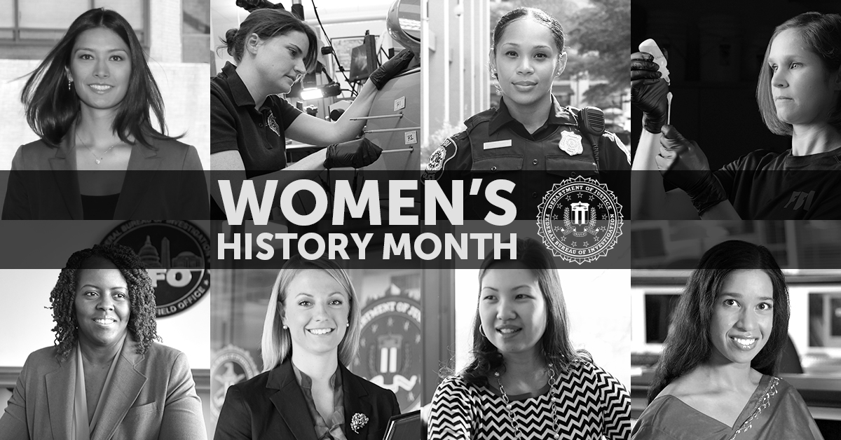 The standard is the one you set. #FBIJobs #WomensHistoryMonth ow.ly/itgY50yUIkM
