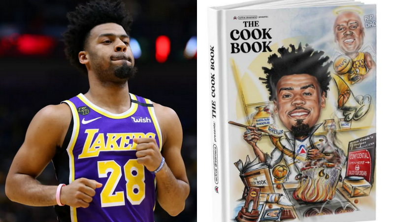 年輕有為!湖人小將出版兒童圖書,傳授成功秘訣+致敬父親!-籃球圈