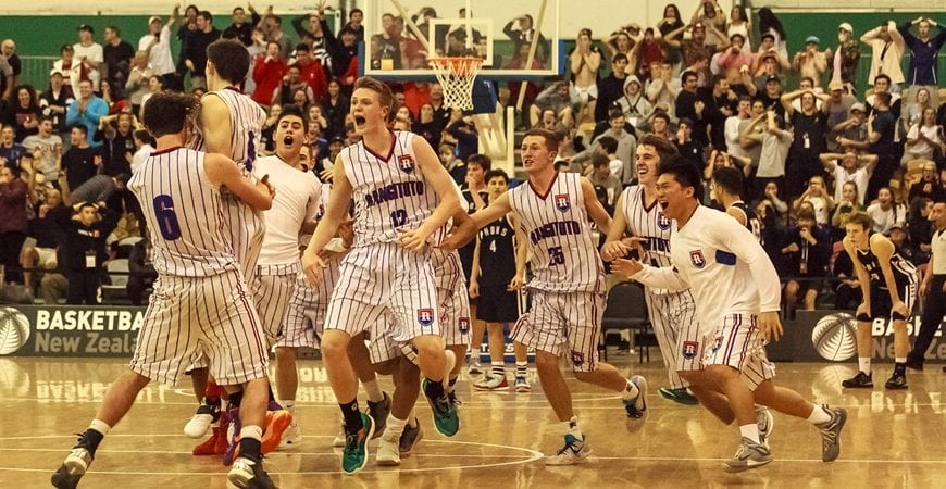 Looking for some basketball to watch? With our tournaments and leagues on a temporary hiatus, we've gone through the archives to bring you some classic games! First up, it's the 2016 SS National Boys' AA Grand Final between Rangitoto and Palmy Boys' - http://bit.ly/2JdsbIT.pic.twitter.com/HNxuUlezQq