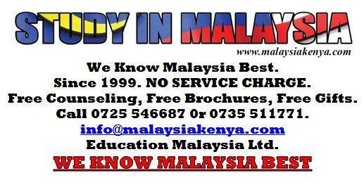 Book your spot today! Get in touch with us. +254 735 511771 or +254 725 546687 Email us on info@malaysiakenya.com #StudyinMalaysia #WeknowMalaysiabestpic.twitter.com/L83H3Mg6FS