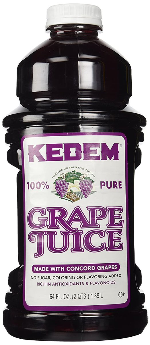 #FoodTweet  If you're a lover of grape juice, you have GOT to try Kedem.  It's the most delicious and pure grape juice I've ever had. It is just incredible. pic.twitter.com/zTQxqTuVlQ