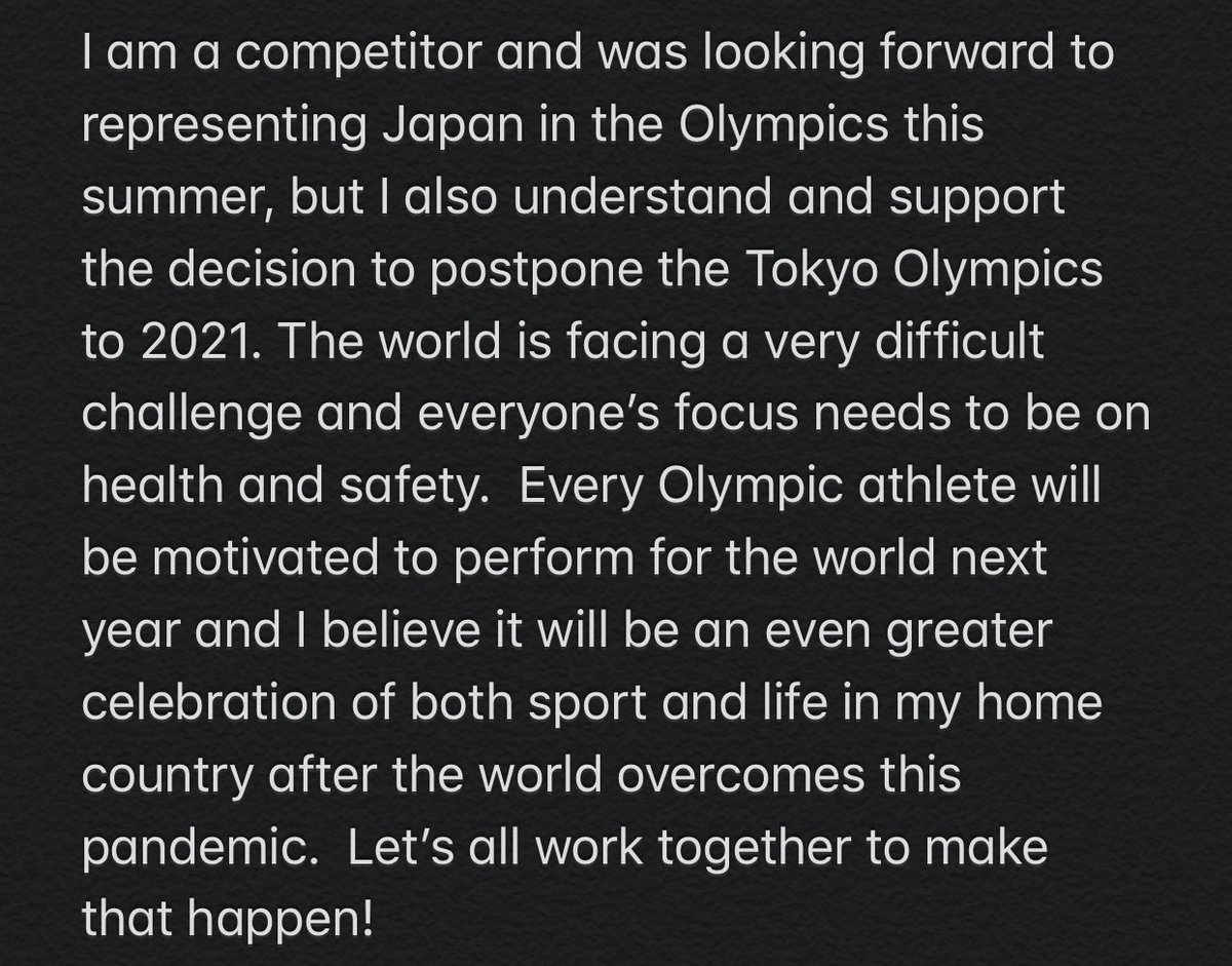 #StayStrong #Tokyo2021 https://t.co/TXgV3JHgGn