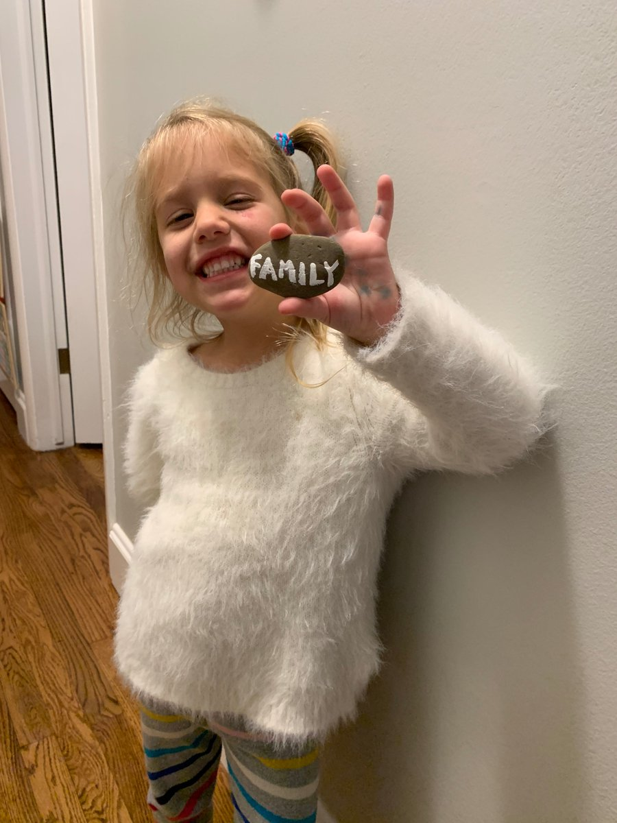 @TheRock My 4 yr old daughter Avalon chose Family. #DavidvsGoliath #SevenBucksProductions #GiveMeOneChance @Hhgarcia41 @Garciacompanies @SevenBucksProd