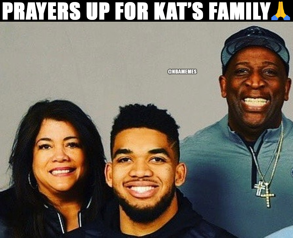 Nba Memes On Twitter Timberwolves Star Karl Anthony Towns Reveals Mom Has Coronavirus In Coma