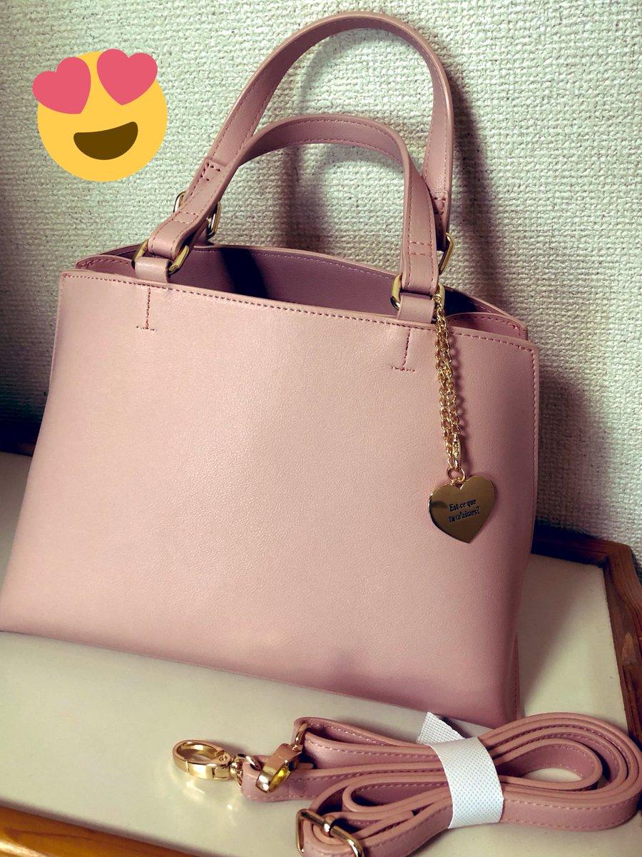 見るだけの予定が😭広告900円バック、買っちゃった💦2wayだし、くすみピンクかわいいし・・・💧#あやらー#しまむら#しまパト