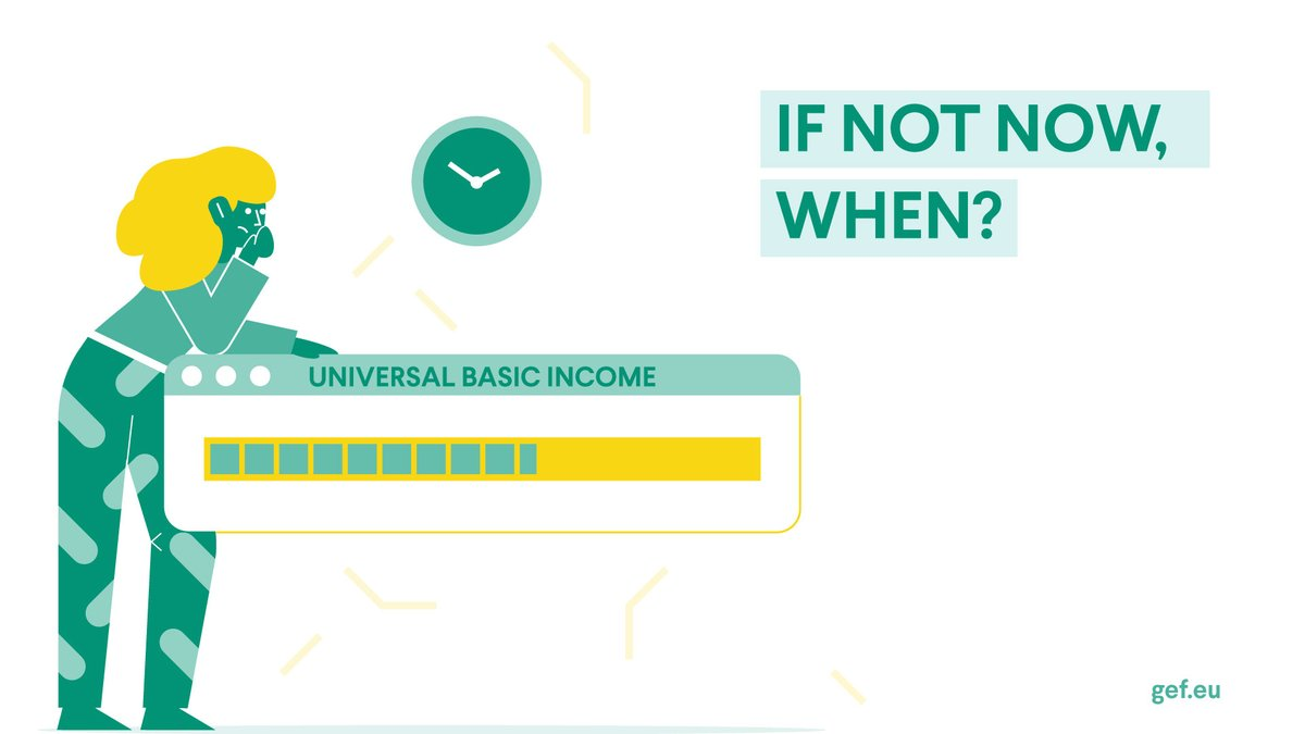 With the #COVID2019 caused economic collapse looming over us, its time to push forward the European debate on #Universalbasicincome! Our thoughts are gathered in this publication: bit.ly/BIGEF Is Europe ready for a European pilot project?