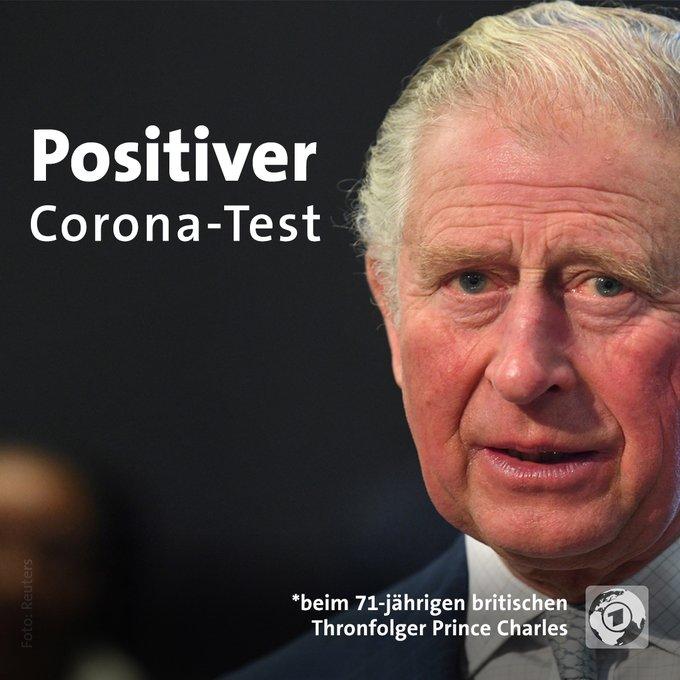 Positiver Corona-Test beim 71-jährigen britischen Thronfolger Prince Charles
