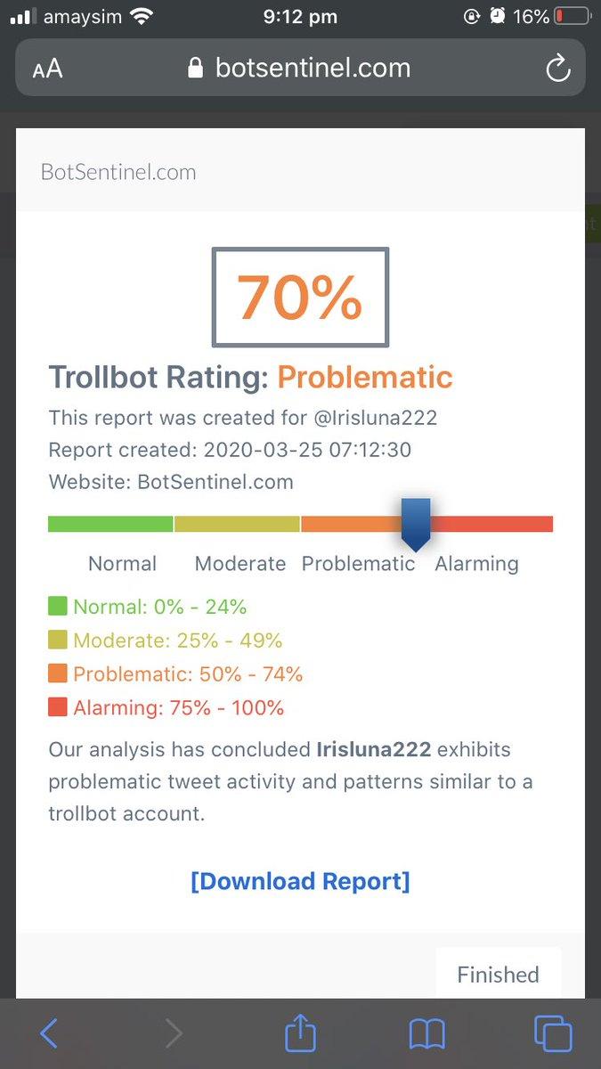 @ProChoiceJesus @irisluna222 Bot/troll, Jesus. She's be at it 2 years. She HAS been busy!