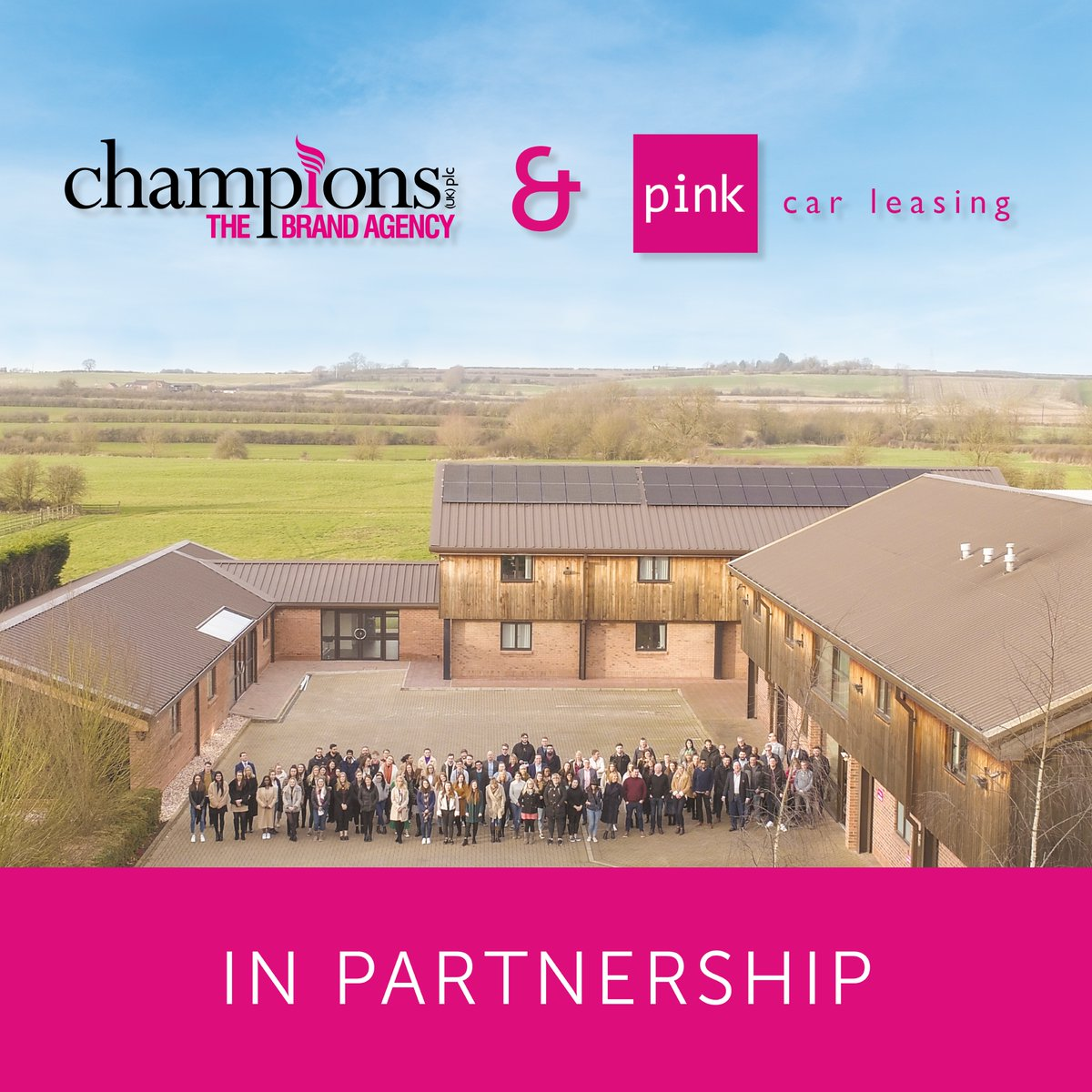 Were pleased to announce our new partnership with @PinkCarLeasing. Both companies will use their respective strengths to support different elements of each other's business. We look forward to building on our partnership with Pink Car Leasing over the next few months!