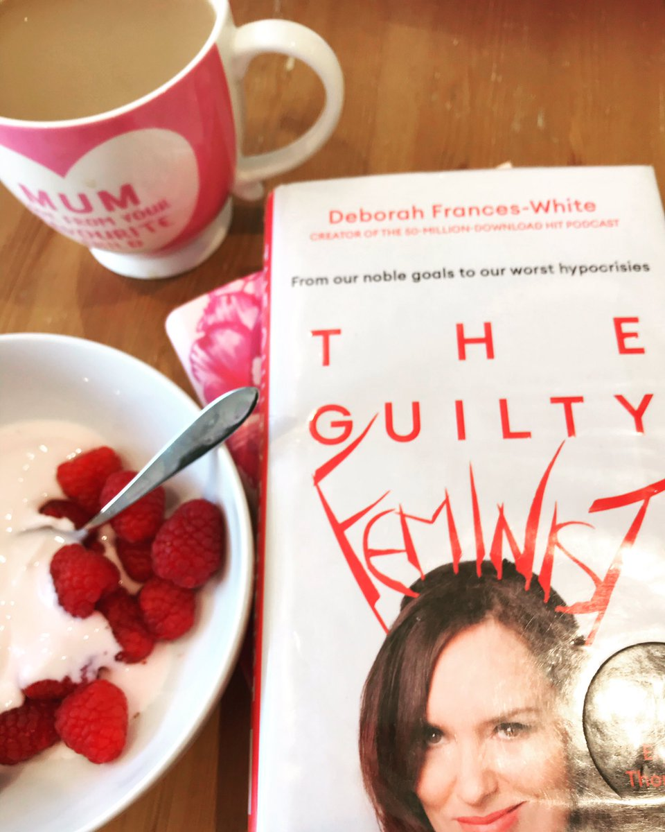 Not having to rush off super early every morning means a bit more reading at breakfast! #TheGuiltyFeminist #DeborahFrancesWhite #amreading #slowdownpic.twitter.com/PrbmoeIAG9