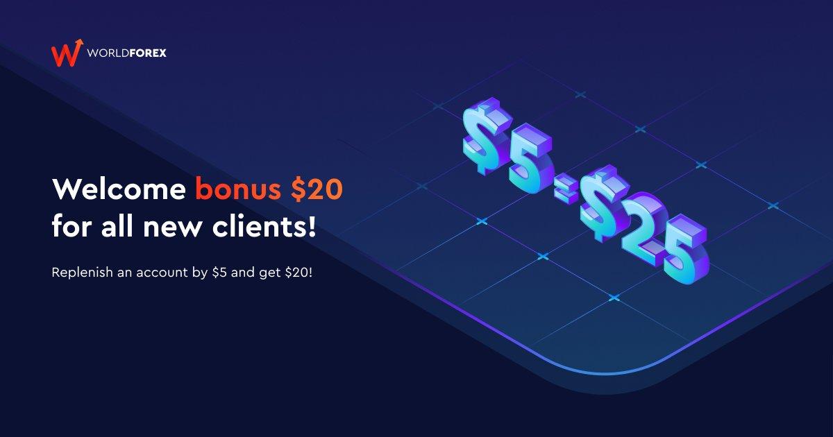 Welcome Bonus – WForex