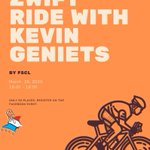 Image for the Tweet beginning: Ride with @GenietsKevin (@GroupamaFDJ)  For