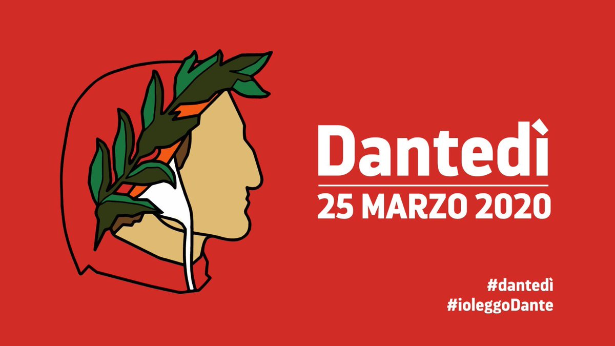 Today is the first #Dantedì! Although only virtually, there's plenty of initiatives to celebrate Dante Alighieri in Italy and around the world. @ItalyinUK @britishlibrary @BL_European @BLMedieval will take you through the poet's life and work. Stay tuned! #Poetry vs #COVID-19 !