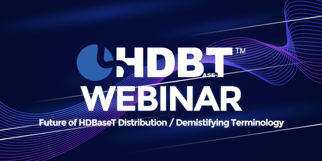 Don't forget the Future of HDBaseT Distribution / Demistifying Terminology webinar at 11am today.   To register, follow the link: https://pulse-eight.us2.list-manage.com/subscribe?u=5ca86a22d2745d5bf33fca107&id=a59cc171d8 …pic.twitter.com/pZWbWlZyAV