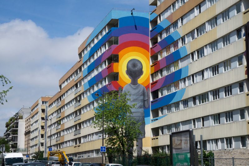 Seth Globepainter at his very best; Paris. (Photo by Artist) #StreetArt #SethGlobepainter #Paris pic.twitter.com/nnCTcgsBeS