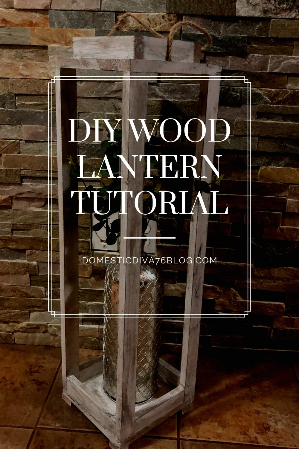 Domestic Diva 76 On Twitter Rustic Wood Lantern Diy In This Blog Post I Give You A Step By Step Tutorial On How To Build This Beautiful Large Lantern Https T Co Ayzqq9at0u Https T Co Sqlbv71ymg